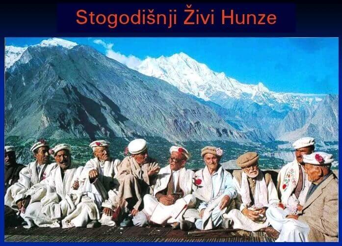 Stogodišnji Hunza ljudi